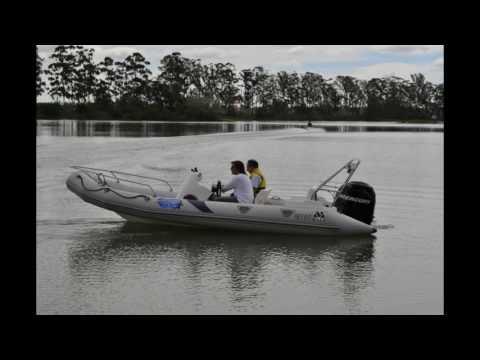 Semirrigido MOON Fear Factor Rusia Lunamar Norberto Luna Motonautica Offshore Turismo Aventura