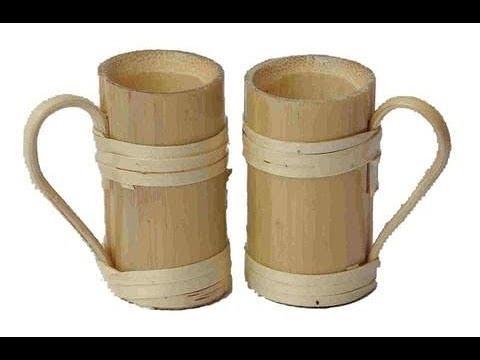 Kerajinan Bahan Bambu Sederhana