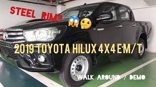 2019 Toyota Hilux 4x4 E Manual | Attitude Black | Walk Around | Demo