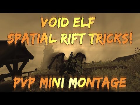 Sensus  WoW BFA Rogue PvP  Void Elf Spatial Rift Tricks! World of Warcraft BFA 3v3 ArenaBG PvP