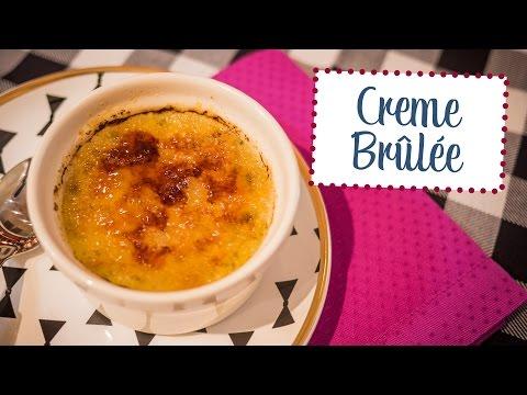 Como fazer Creme Brûlée - O Chef e a Chata em Paris