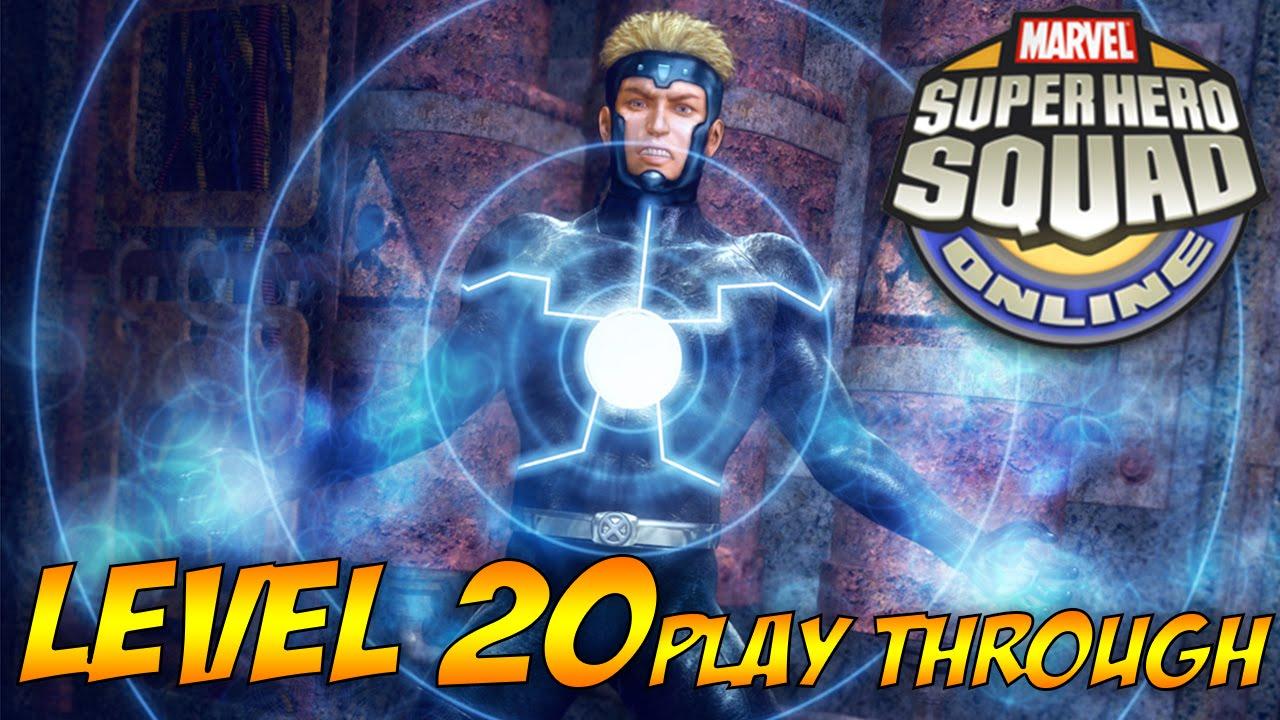 Play Superhero Squad Stark Tower Defense Game Online