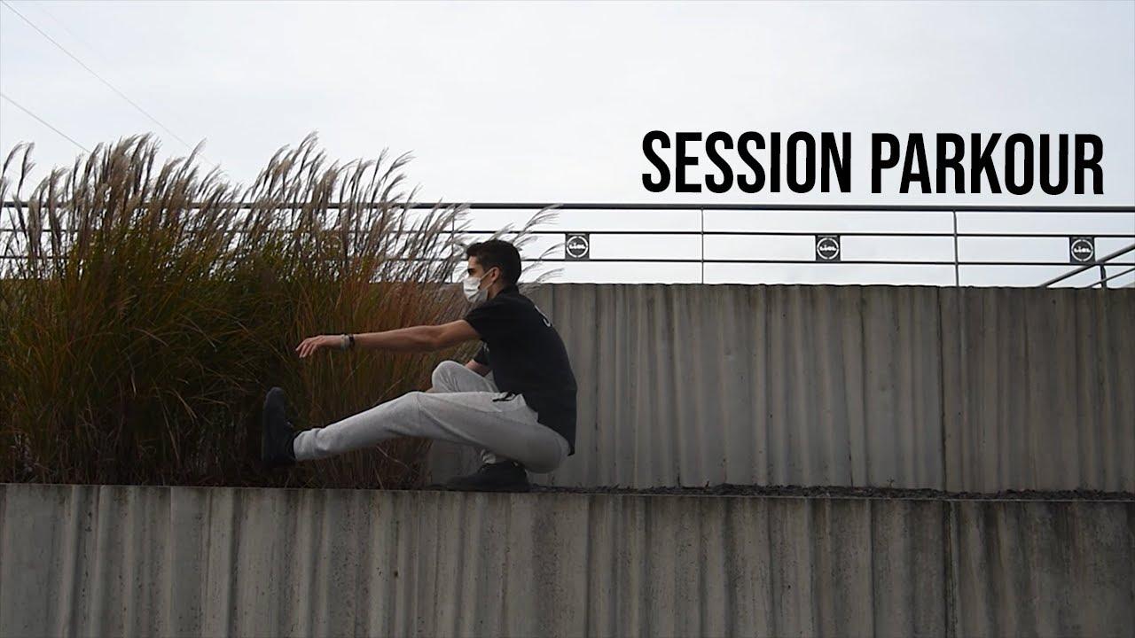 Vidéo session parkour