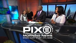 Last week's PIX11 Morning News turned up the heat!