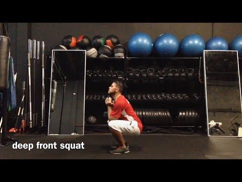 deep front squat