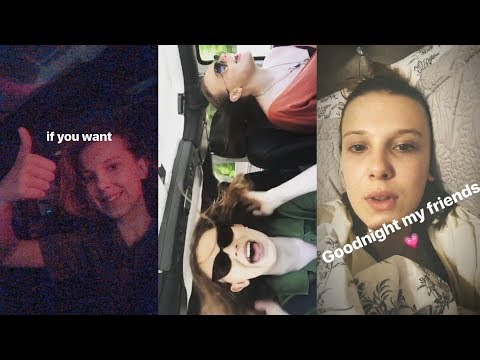 Millie Bobby Brown  Snapchat Story  28 April 2018