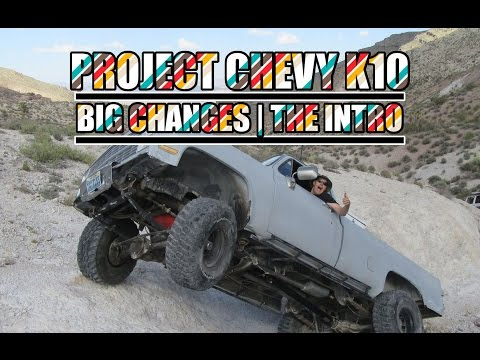 Project Chevy K10 - Big Changes - The Intro - ENGINE SWAP | FLAT BED | DOVE NOSE