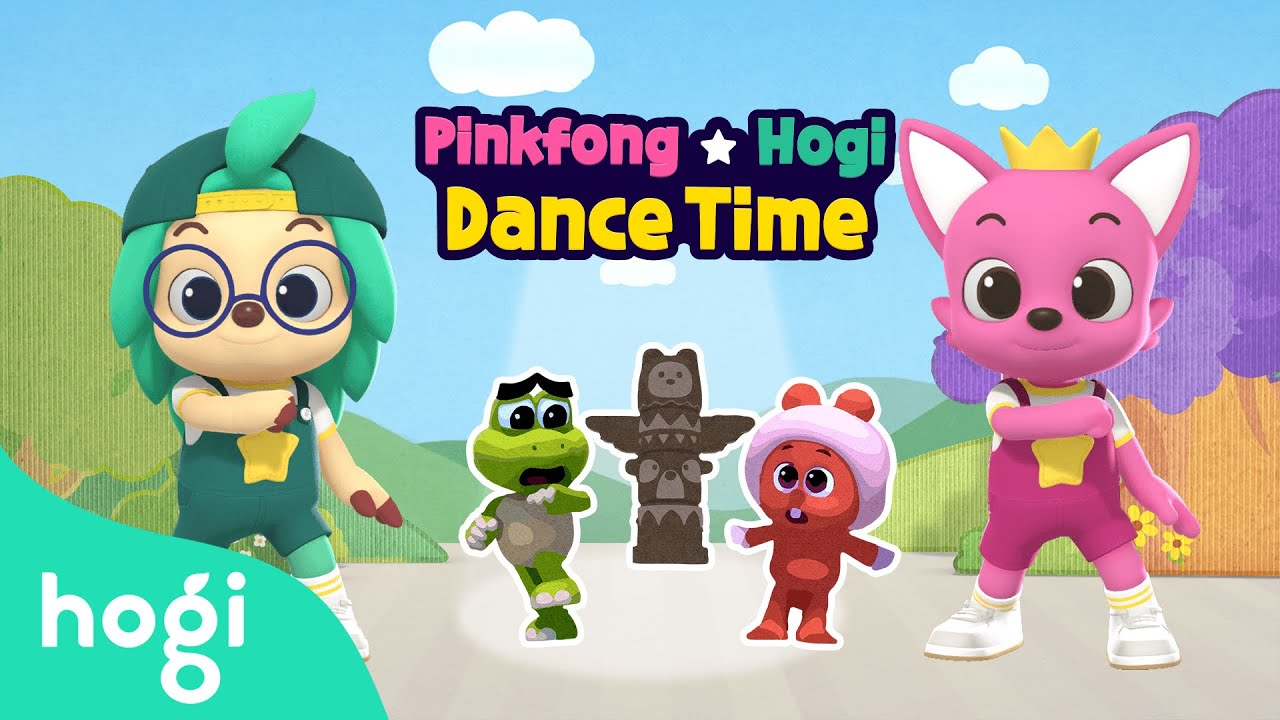 It's a Monster! | Dance Time | Choreography for Kids | Dance with Pinkfong & Hogi