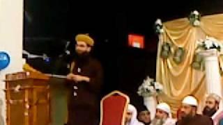 Syed Noorani Miya Ashrafi-al-Jilani Reciting Naat e Paak Zikre Ahmed - Birmingham P1/2
