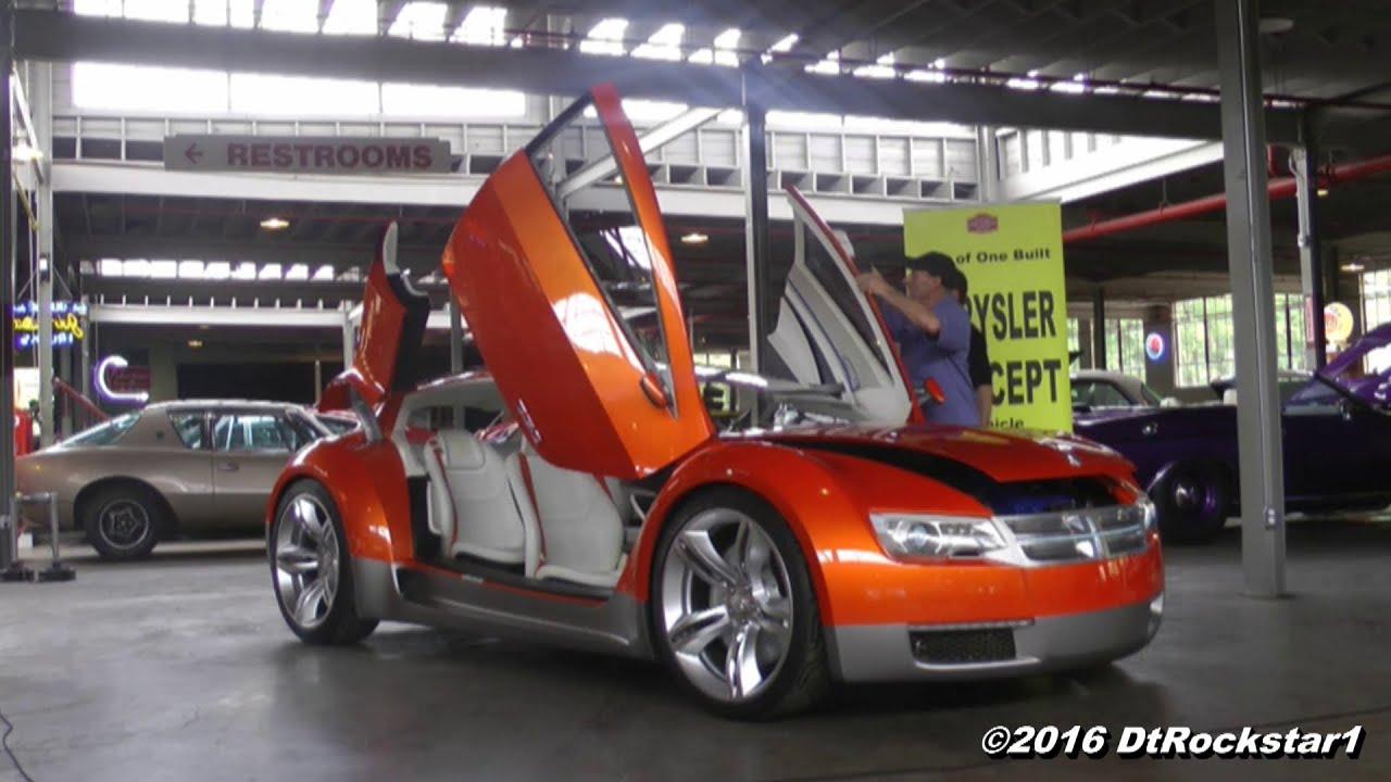Dodge Zeo Concept Car with Suicide Scissor Doors