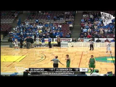 2012 CHSAA Boys Class 2A Quarterfinal - Denver Chr vs Sanford