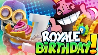 New Clash Royale HD Wallpaper - Anniversary Edition