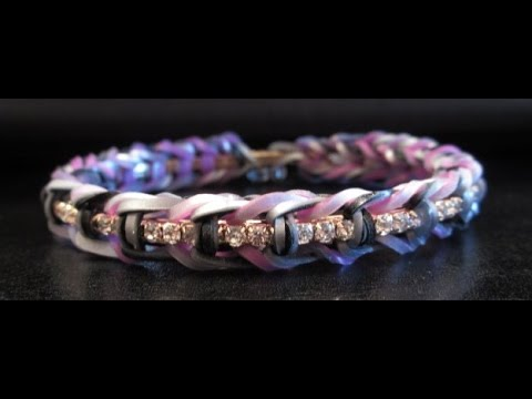 Bangle Fishtail Rainbowloom Bracelet