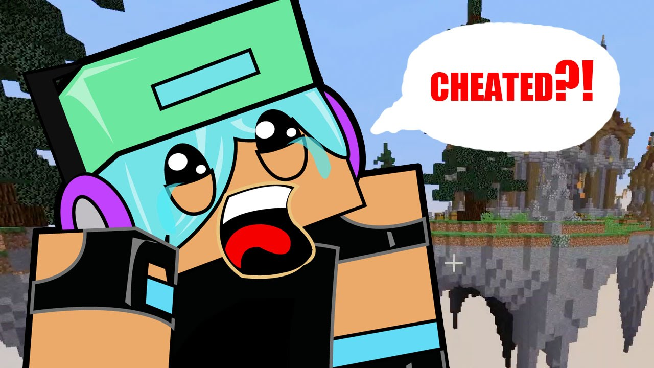 Minecraft Kicked For Cheating Let S Play Skywars