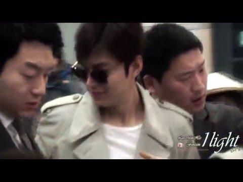 20160326 Lee Min Ho Incheon Airport 입국& 0324 출국