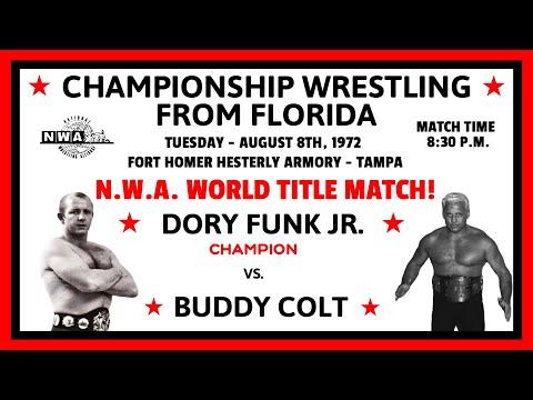 N.W.A. World Heavyweight Title Match: Dory Funk Jr. (c) vs Buddy Colt (August 8th, 1972)