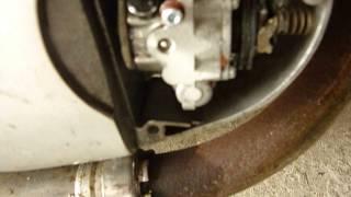 Fonctionnement pompe à huile moteur 2 temps yamaha RS