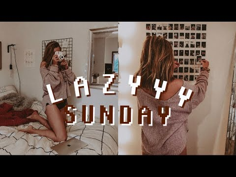 a lazy sunday in my life