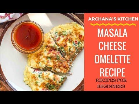 Cheese Masala Omelette