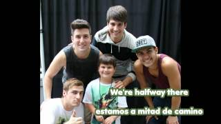 Big Time Rush - Halfway There Lyrics - Halfway There Letra en español Traducida (subtitulado)