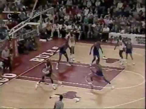 Michael Jordan 1989-90: 41 points Vs. Cleveland Cavaliers.