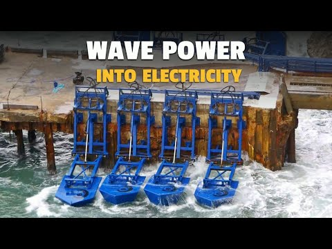 These Floats Turn Ocean Wave Power Into Electricity