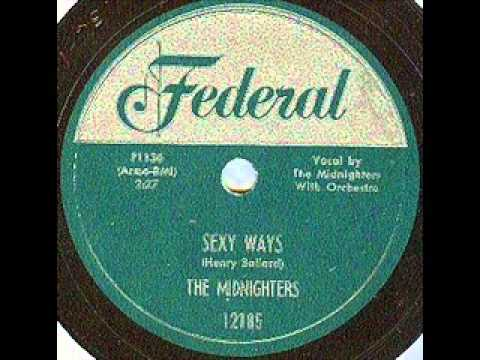 HANK BALLARD & MIDNIGHTERS    Sexy Ways    JUN '54