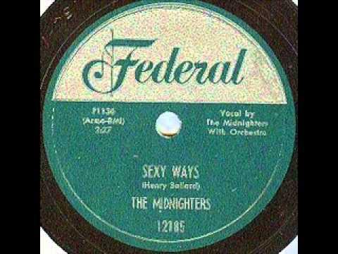 HANK BALLARD & MIDNIGHTERS    Sexy Ways    JUN '54 mp3