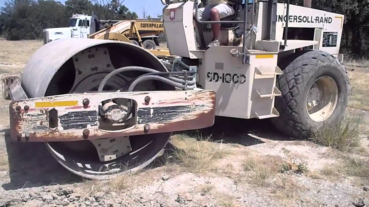 FOR SALE: Ingersoll Rand SD100D  Single Drum Roller FOR