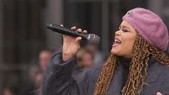 """Andra Day Performs """"Rise Up"""" Live at Hudson Yards"""