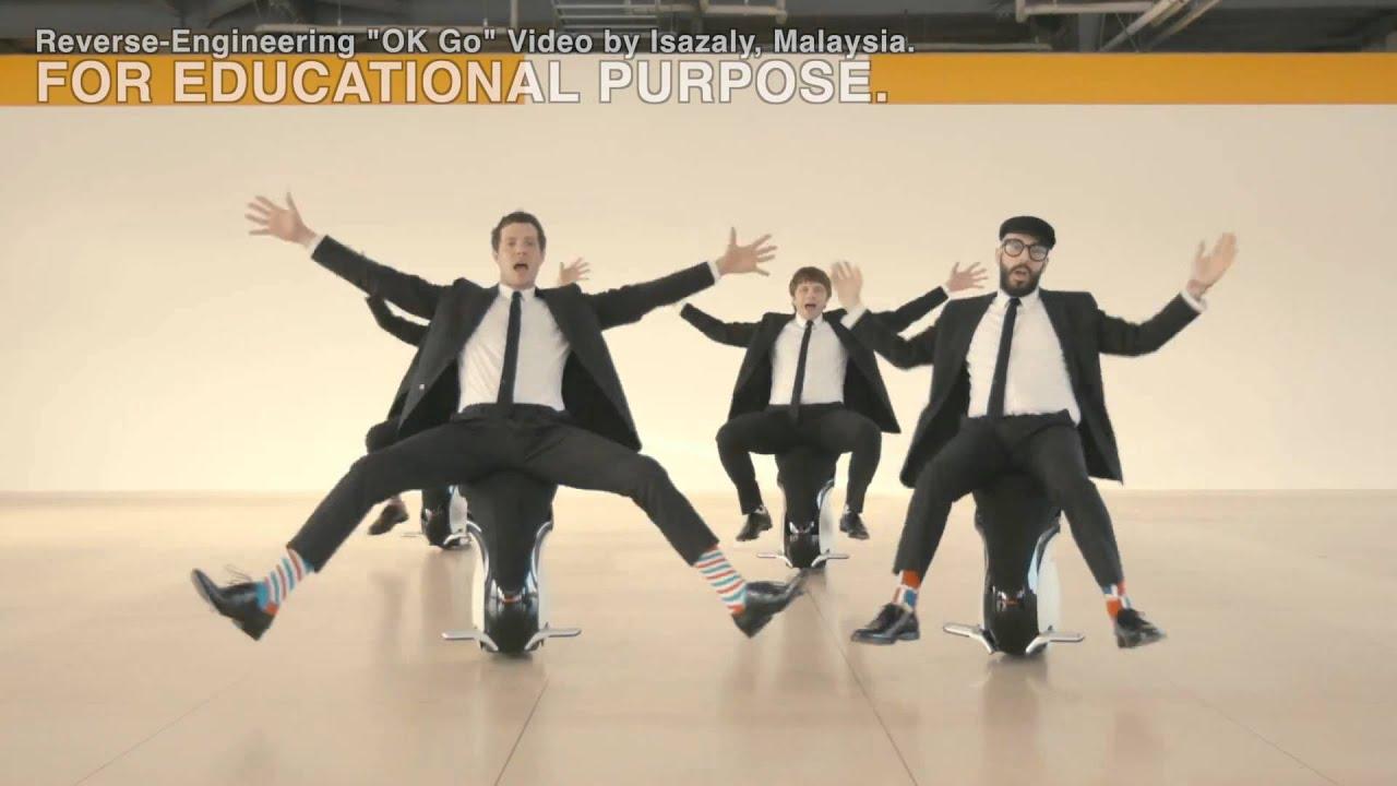 Reverse Engineering Video   Ok Go
