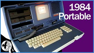 Osborne Portable Computer from 1984 - Unboxing and Looking Inside the Osborne Executive