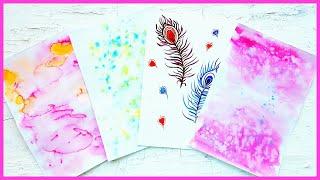 Разноцветные листы для ежедневника/личного дневника своими руками!