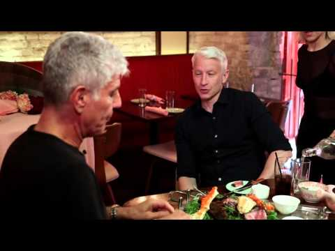 Anthony Bourdain on Buenos Aires: It was meat, meat and more meat