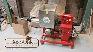 Repeat youtube video Briquetting Machine Sawdust Ph Briquette Press Review