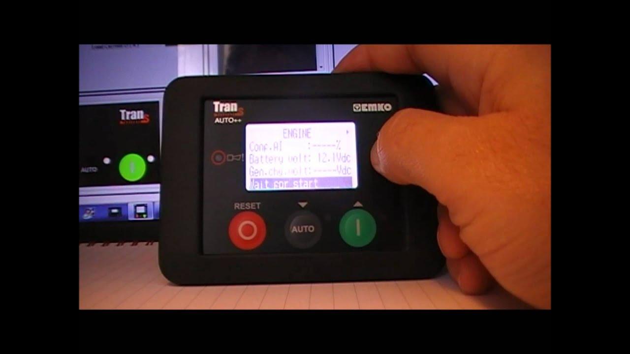Trans Min Auto Automatic Generator Controller