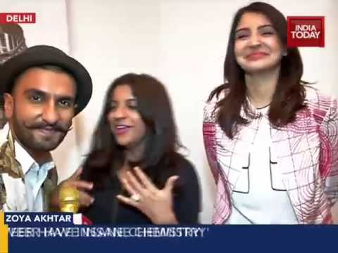 Up close and personal with Ranveer, Anushka and Zoya