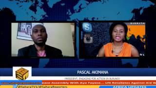 Current Situation In Burundi Chaotic - Pascal Akimono