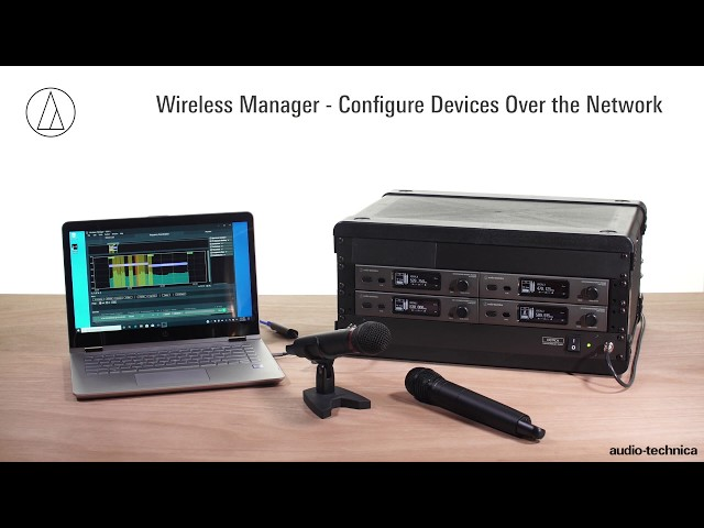 Wireless Manager Overview   Audio-Technica Software Tool