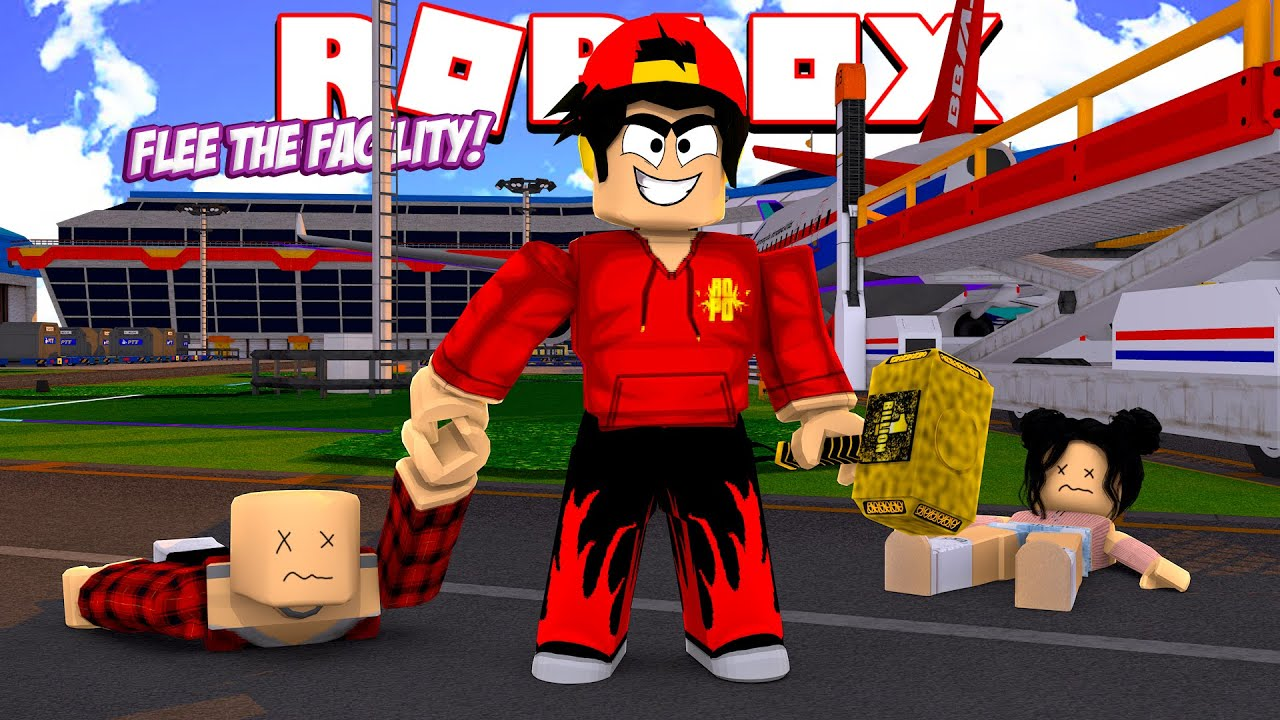 Roblox Flee The Facility Airport Update Youtube