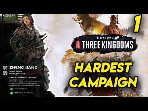 The Hardest Total War: Three Kingdoms Campaign Start #1 Of 2