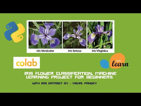 Iris Flower Classification, Machine Learning Project For Beginners Using Python
