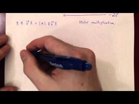 Geometric Vectors - Theory