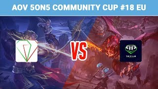 arena of valor 5on5 community cup