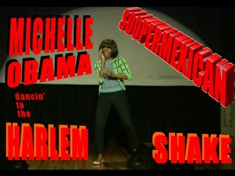 Michelle Obama Dancing To The Harlem Shake !!!