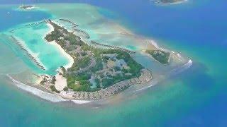 Полет над Мальдивскими островами