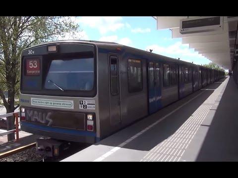 GVB Metro 3*M2 - Station Diemen Zuid - Lijn 53
