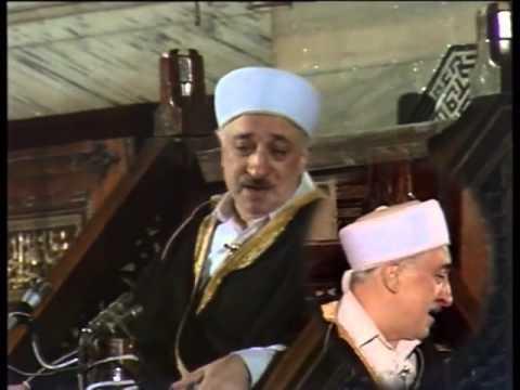 ALLAH SEVGİSİ Sultanahmet Camii (Pazar Vaazı) / İSTANBUL 17 Aralık 1989 Fethullah Gülen