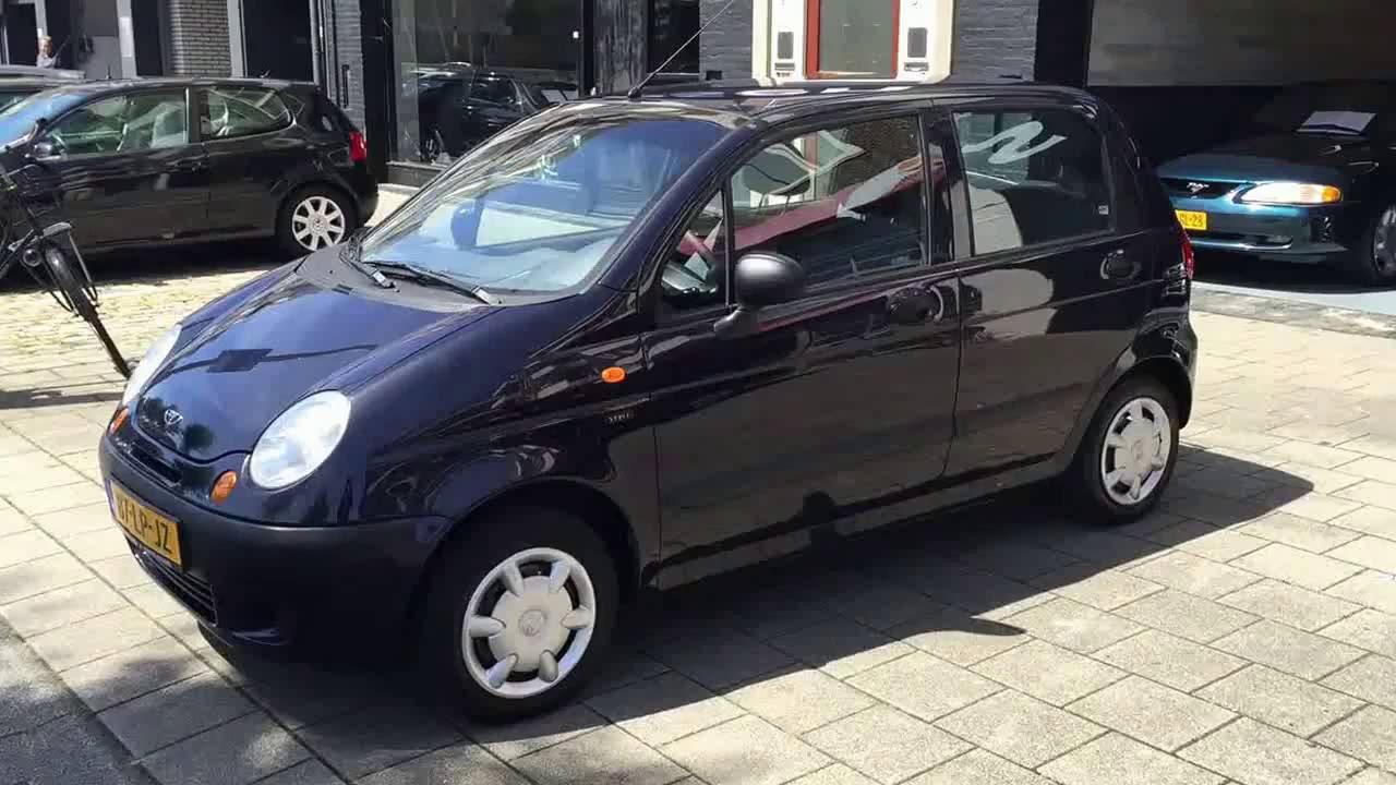 Daewoo Matiz 2003 //www.philipsenauto.nl - YouTube