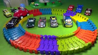 pocoyo super circuit race track disney cars toys collector and surprise eggs